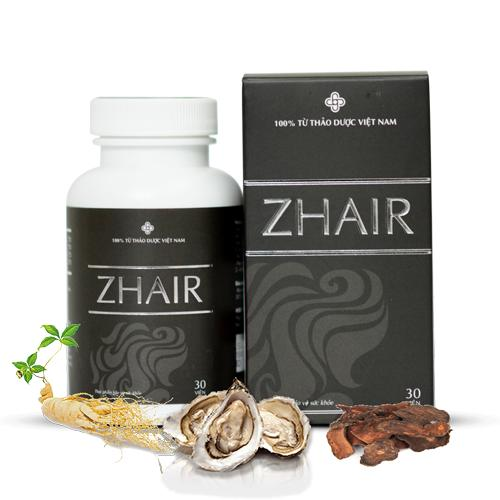 Thực Phẩm Bảo Vệ Sức Khoẻ ZHAIR ngăn ngừa rụng tóc, giúp mọc tóc tốt nhất