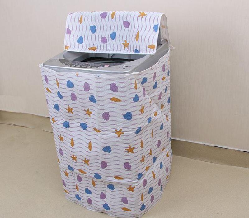 Bảng giá bạt phủ che máy giặt-Áo phủ máy giặt (cửa trên) loại dày cao cấp Điện máy Pico