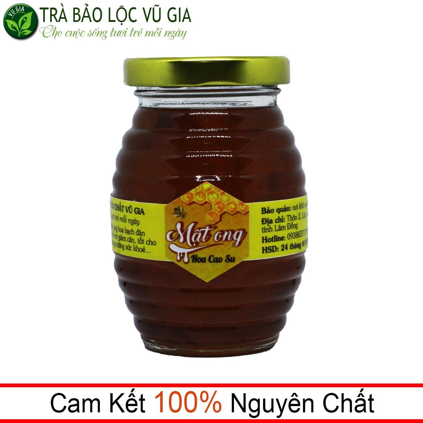 Mật Ong Hoa Cao Su Nguyên Chất VG 200ml nhập khẩu