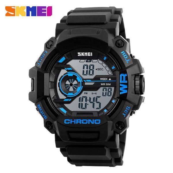 Đồng hồ nam dây cao su Skmei 1233 bán chạy