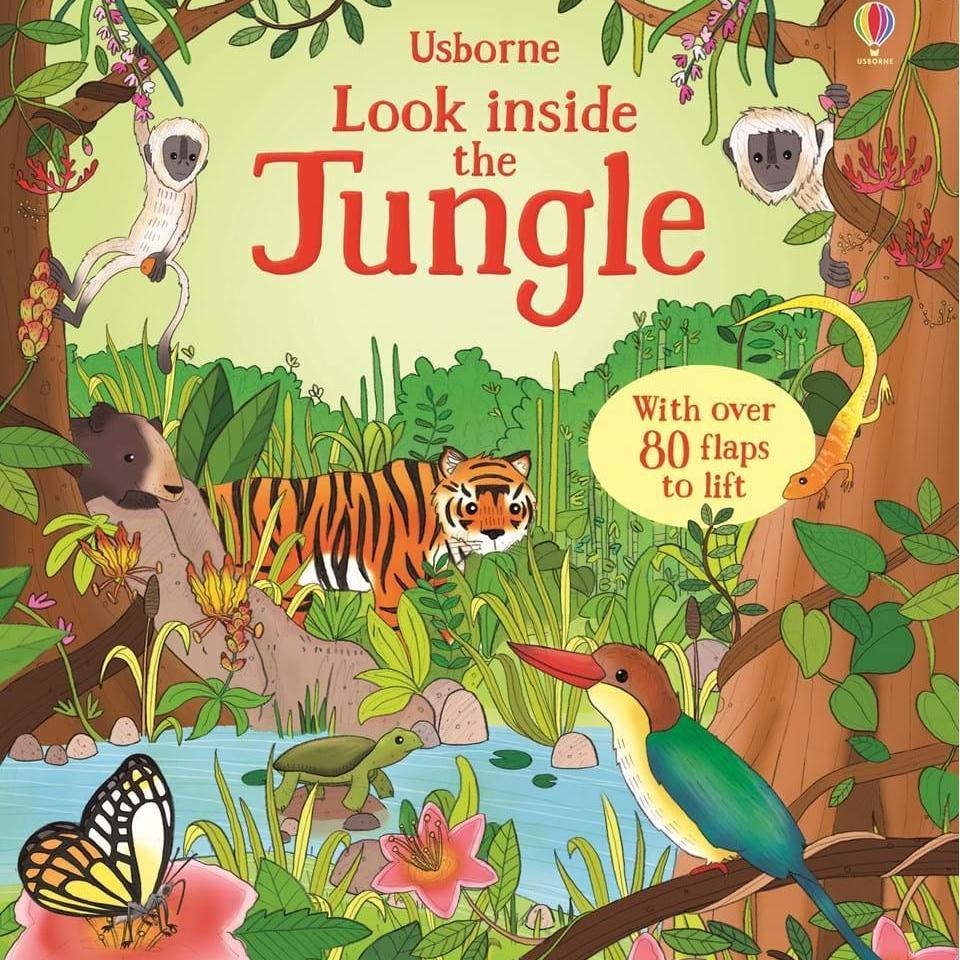 Sách Tiếng Anh Usborne - Look Inside The Jungle By Sách Thiếu Nhi Mẹ Ong Nâu.