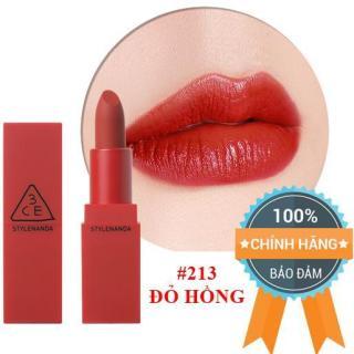 Son Lì 3CE Red Recipe Matte Lip Color 213 Fig - Màu Đỏ Hồng - Chính Hãng 100% thumbnail