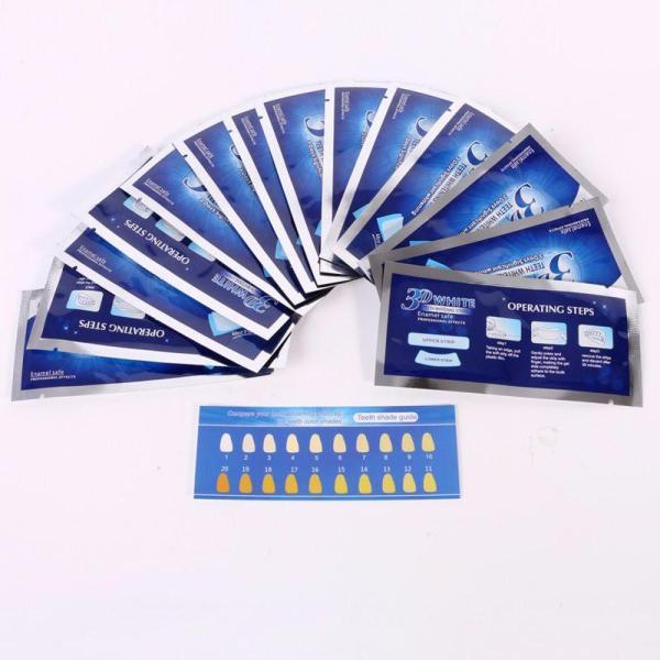 7 Gói - 14 Miếng dán trắng răng whitening strip liệu trình dưỡng trắng răng hiệu quả an toàn trong tuần