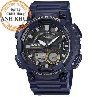 Đồng hồ nam dây nhựa Casio Anh Khuê AEQ-110W-2AVDF thumbnail