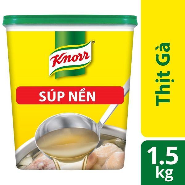Súp nền gà Knorr 1,5kg