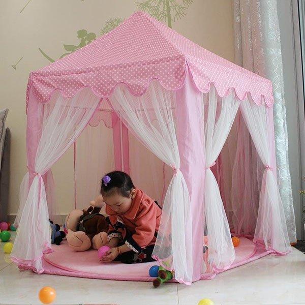 Mã Khuyến Mại tại Lazada cho Lều Công Chúa Phong Cách Hàn Quốc Cho Bé (Hồng) - Kmart