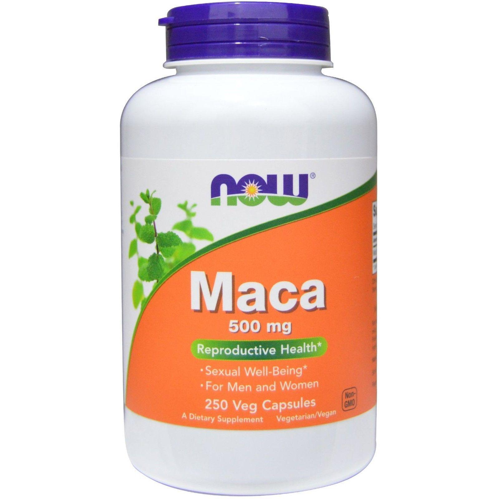 Sâm Maca Now Foods 250v/500mg Tăng Cường Sinh Lý