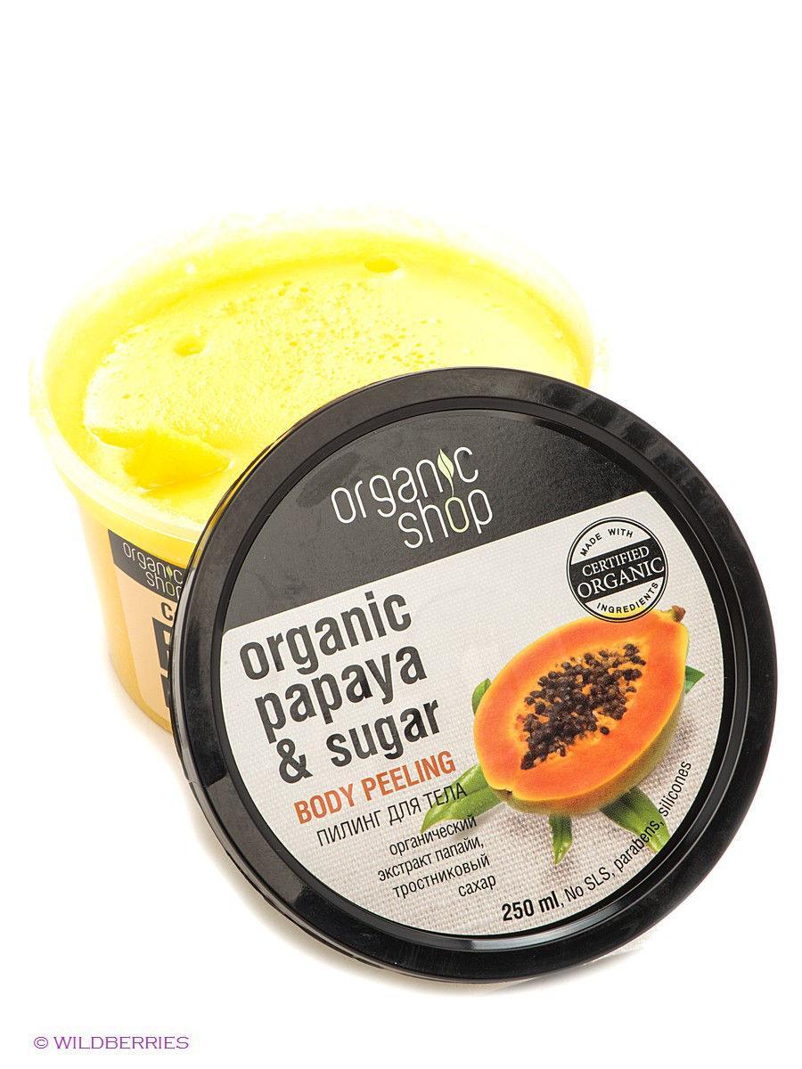 Tẩy Tế Bào Chết Toàn Thân Organic Shop Organic Papaya Sugar Body Peeling (250ml)