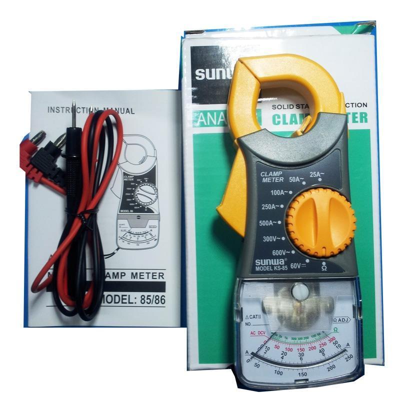 Ampe kìm kẹp đo điện thông minh Sunwa KS-85