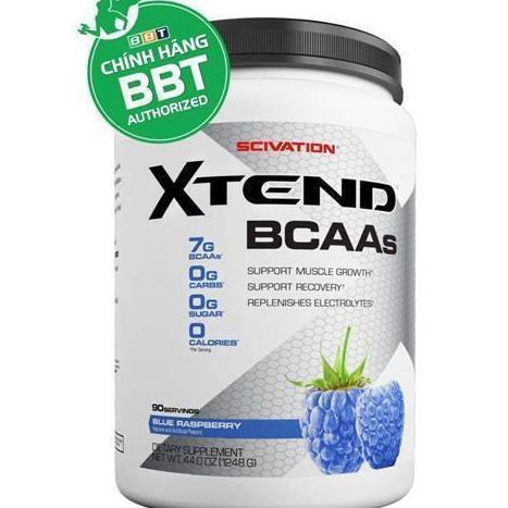 Sản phẩm giúp phục hồi trong tập  Scivation Xtend 90 Blue Raspberry nhập khẩu