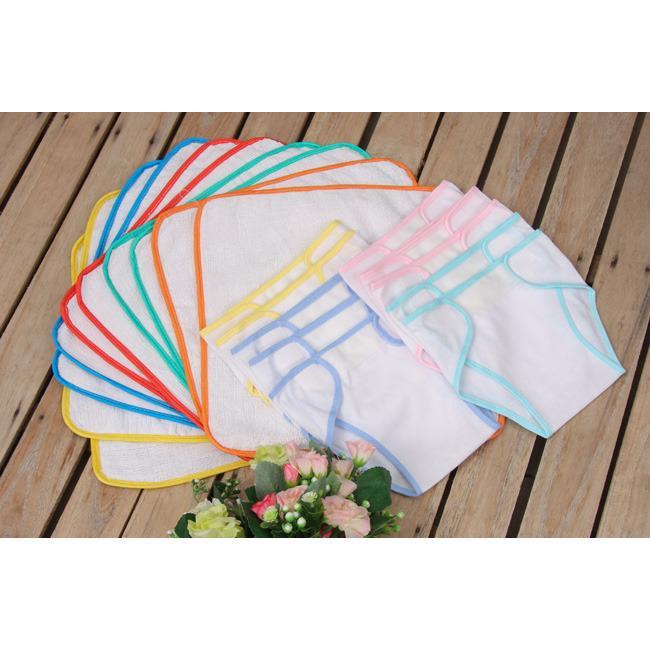 Combo 10 khăn chống thấm và 10 tã cho bé size 3 - 4