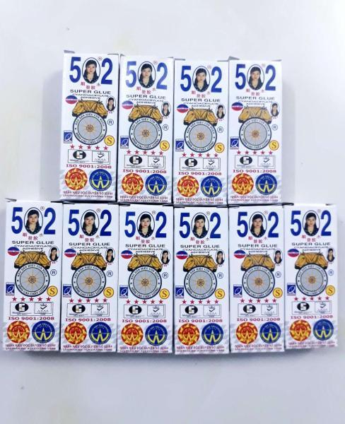 Hộp Keo Dán 502  50 Tuýt