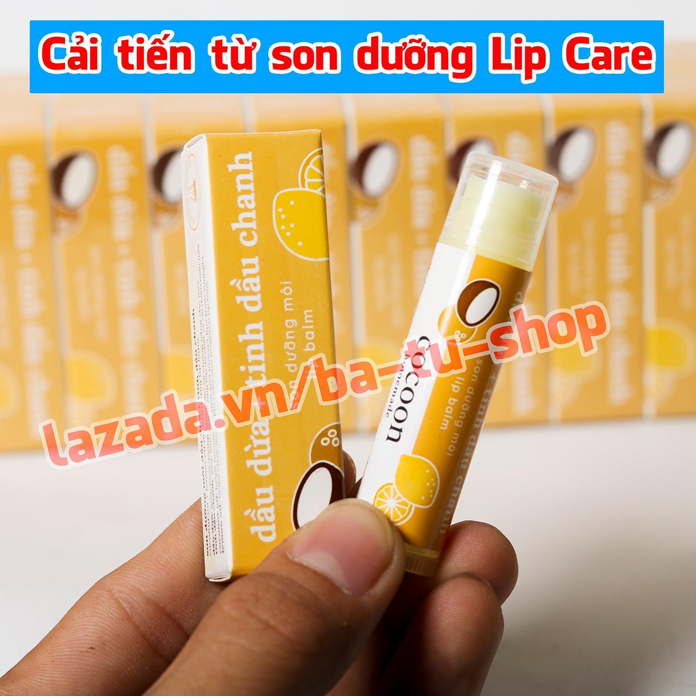 Son dưỡng môi Cocoon Lip Balm trị thâm, dưỡng môi tự nhiên 5g