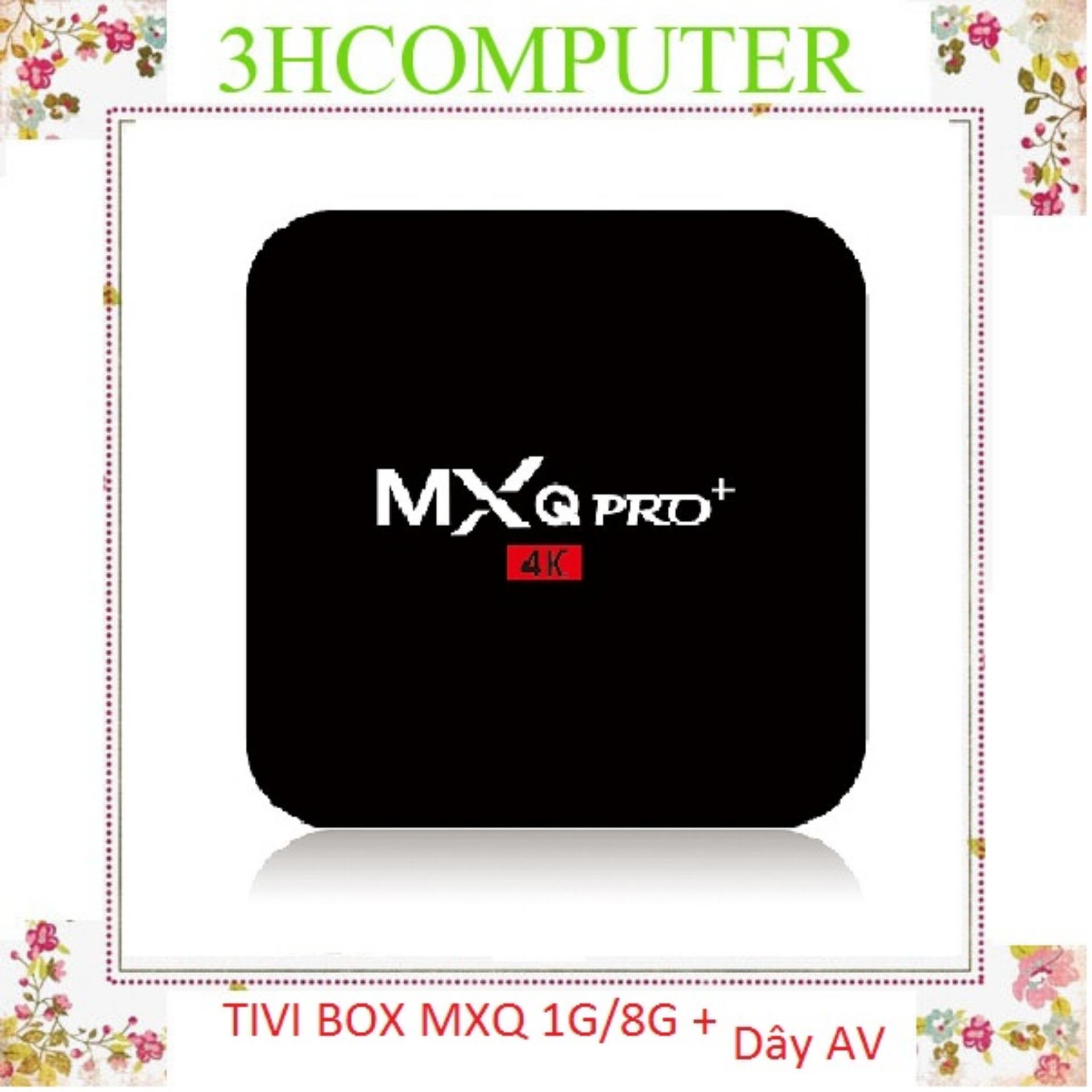 Hình ảnh Tivi Box MXQ-4K Pro Với Android 7.1.2 Siêu Mạnh SIêu Nhanh Phiên Bản 3/2018