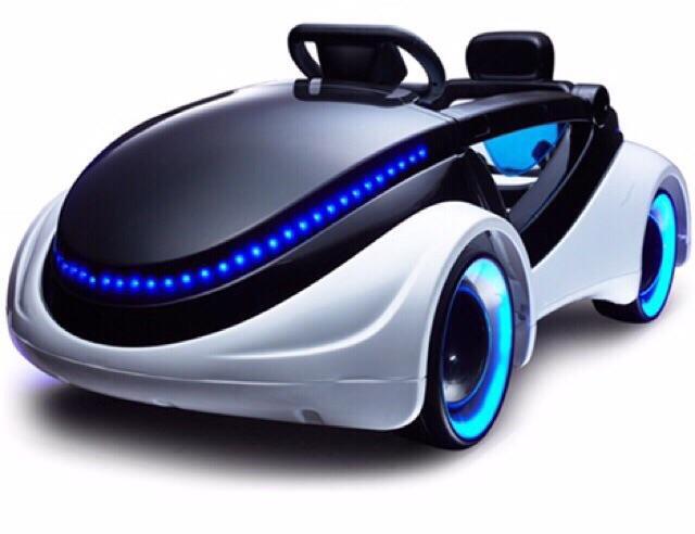 Xe ô tô điện sành điệu cho bé