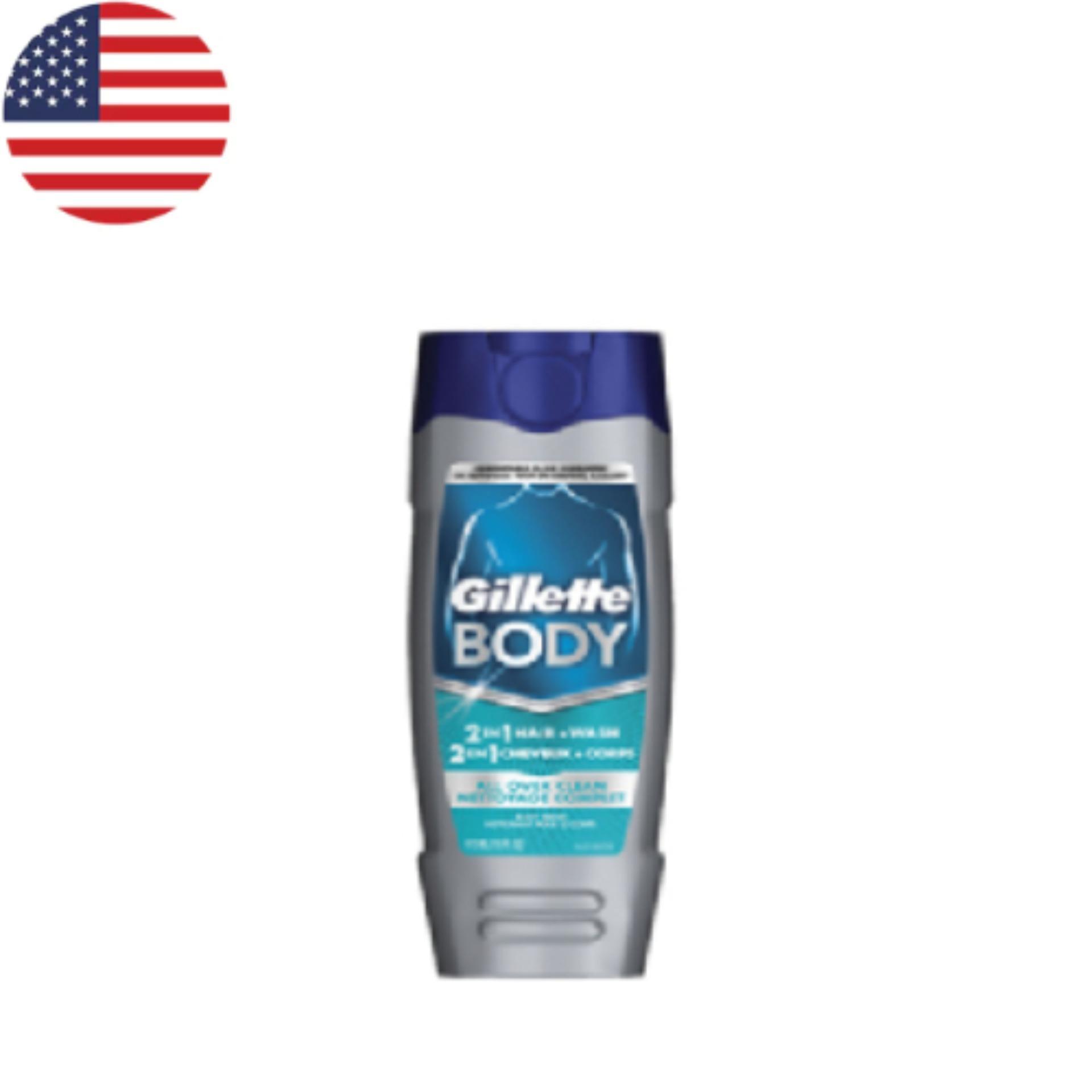 Hình ảnh Sữa Tắm Gillette Body Odor Shield 473ml