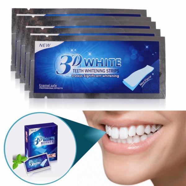 5 gói -10 Miếng dán trắng răng, dưỡng trắng răng hiệu quả nhanh chóng giá rẻ