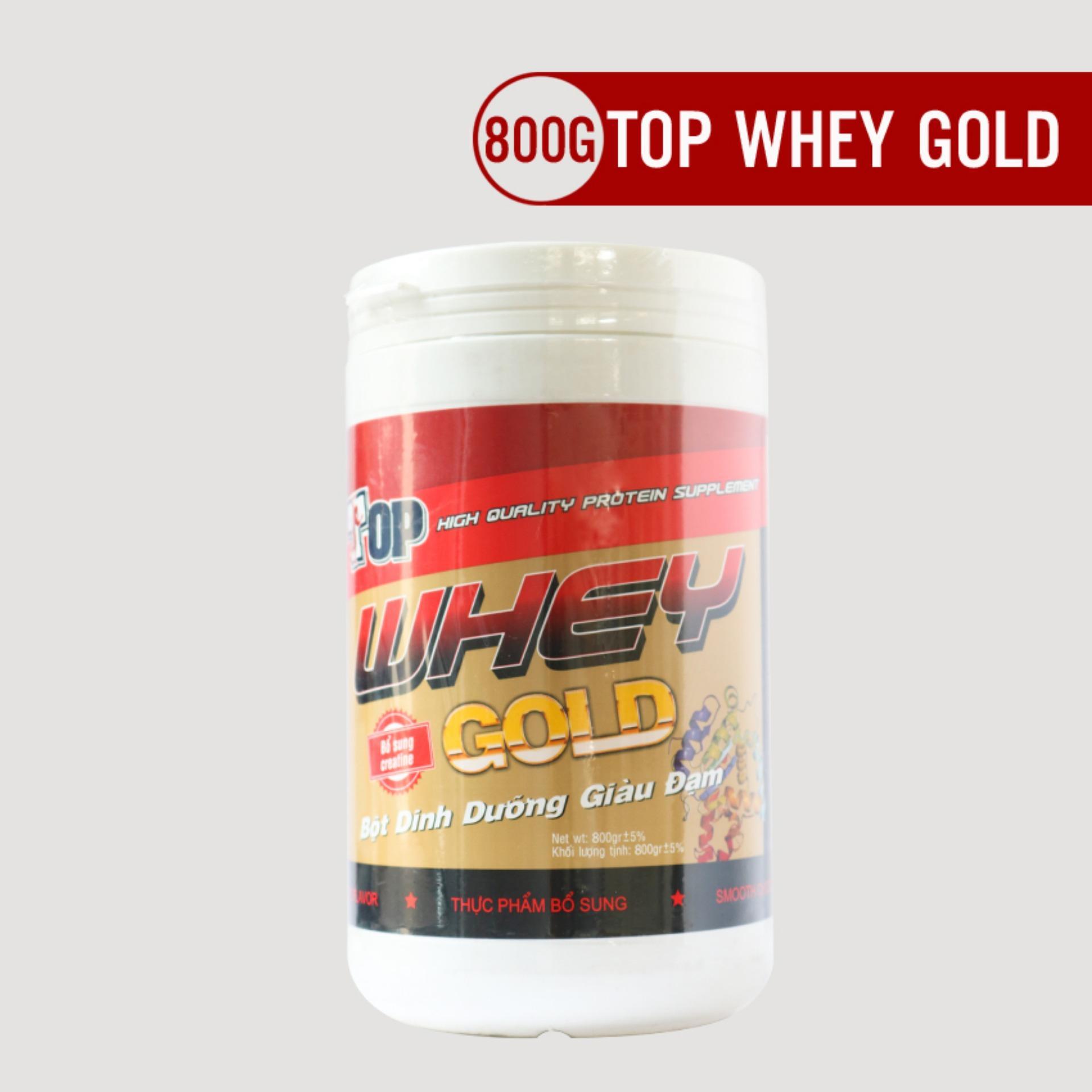 Bột dinh dưỡng giàu đạm Top Whey Gold 800g