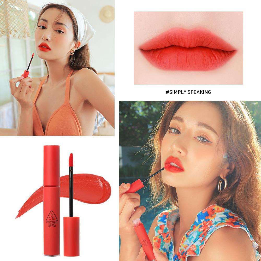 Hình ảnh Son Kem Lì 3CE Velvet Lip Tint 4g