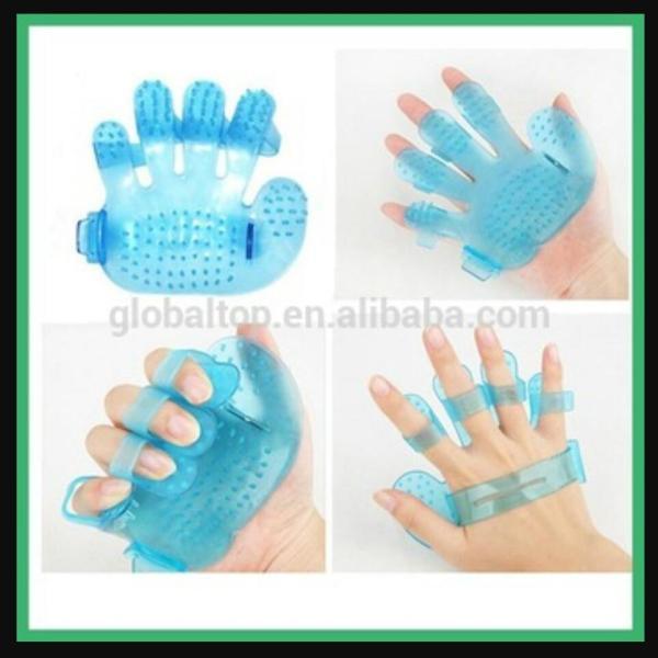 HN-Găng tay nhựa tắm thú cưng (hanpet 349)