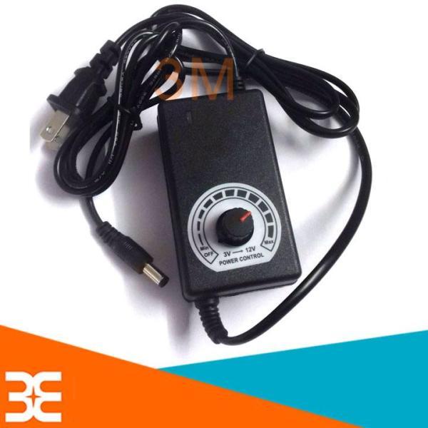 [Tp.HCM] Nguồn Adapter Điều Chỉnh Điện Áp 3-12VDC 2A (Jack DC 5.5x2.1mm)