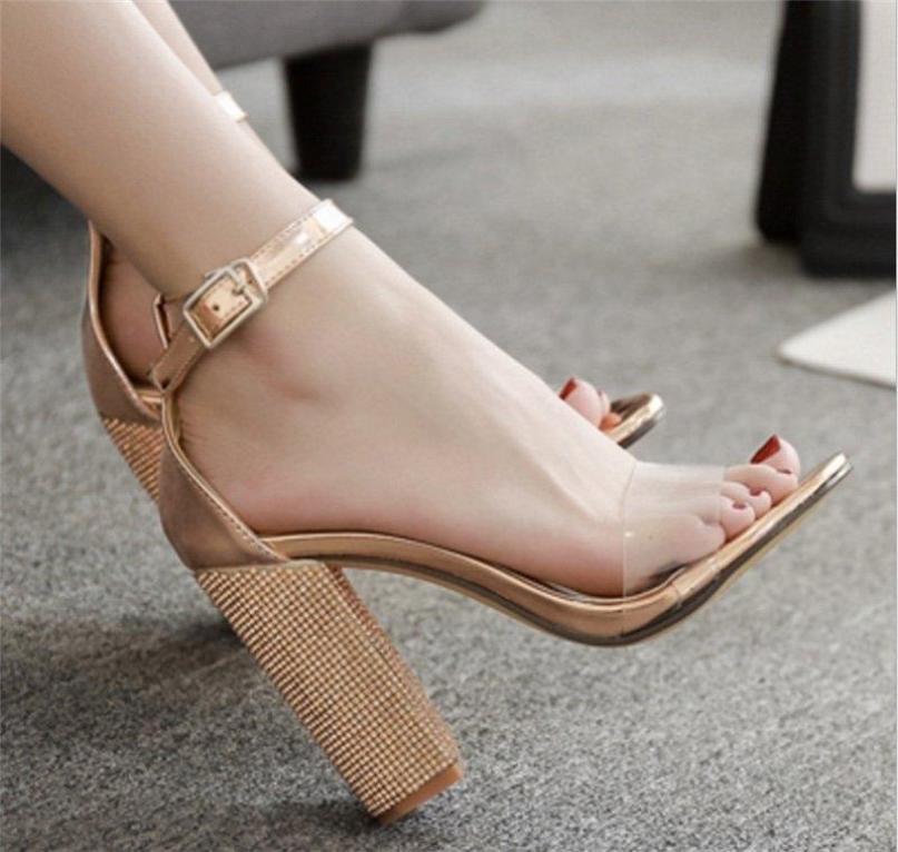 giày sandal cao gót sang chảnh giá rẻ