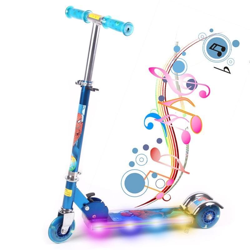 Đồ chơi trẻ em nhập khẩu, Đồ chơi trẻ em xe hơi - MUA NGAY Xe Scoster bánh phát sáng, cho trẻ kích thích vận động, cao, khỏe, phát triển toàn diện- Bảo hành UY TÍN 1 đổi 1
