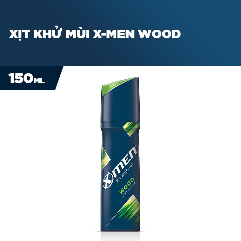 Xịt toàn thân X-men Wood 150ml