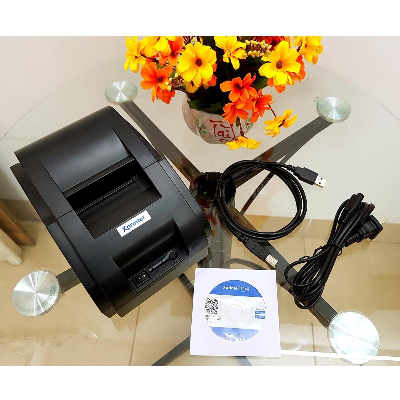 Máy in hóa đơn Xprinter 58