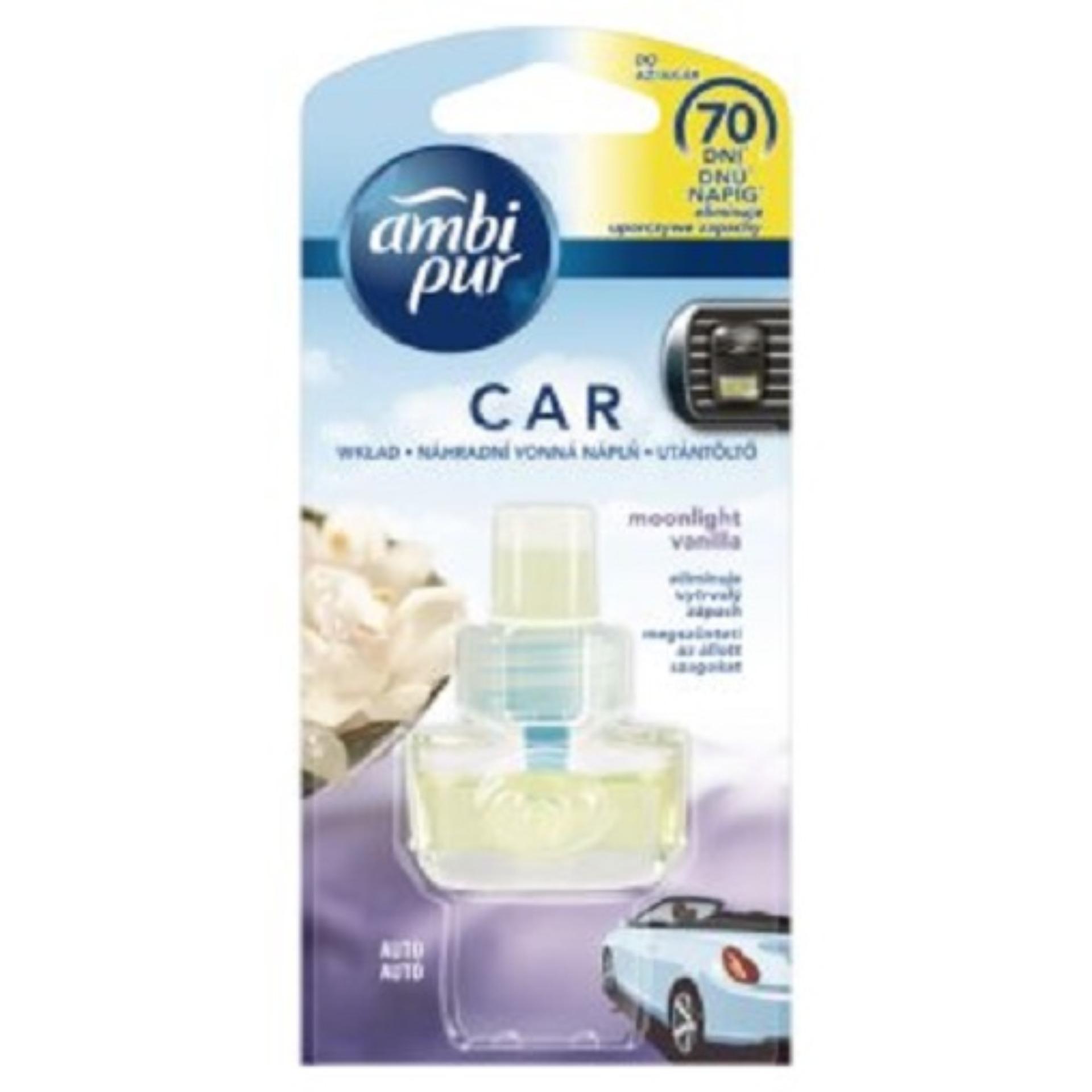 Mã Khuyến Mại Chai Tinh Dầu Thơm O To Thay Thế Ambi Pur Car Air Freshener Refill Abp8967 7Ml Hương Vani Trong Hồ Chí Minh