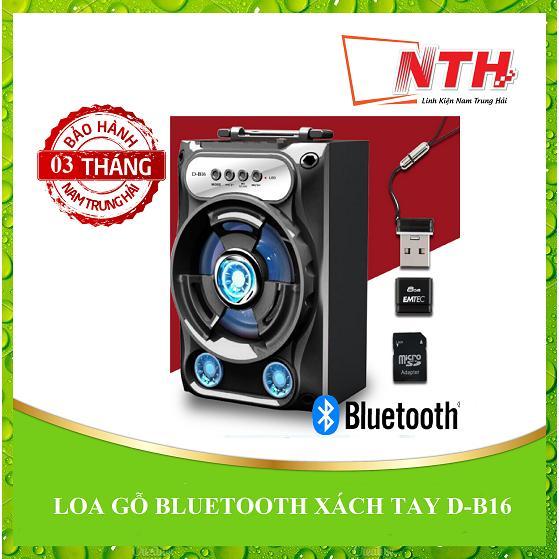 Hình ảnh Loa Bluetooth xách tay D-B16