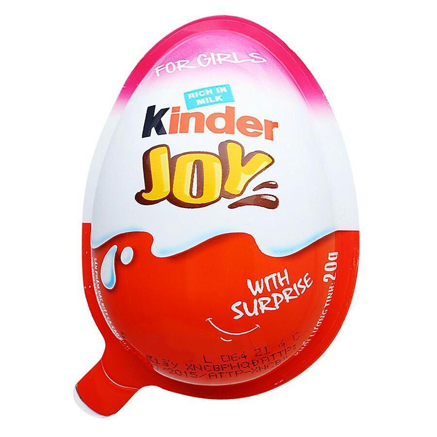 Trứng Kinder Joy Ấn Độ combo 12 quả HSD tháng 3/2020