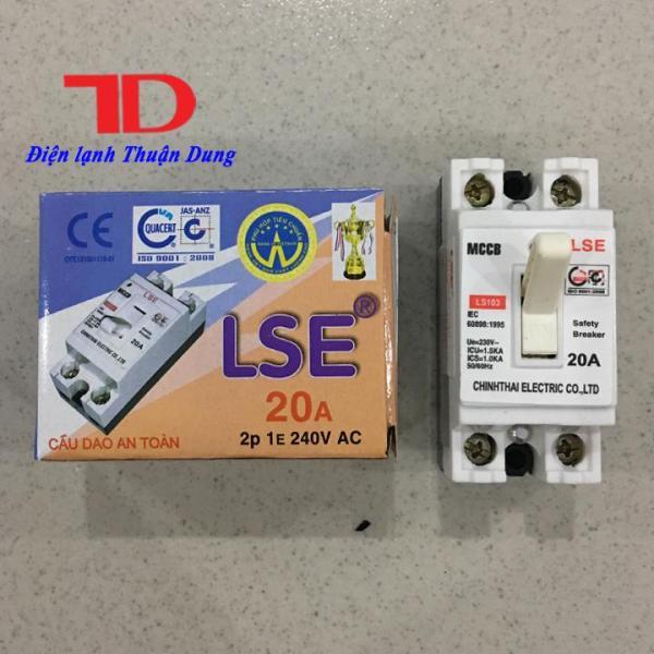 Bảng giá Cầu dao an toàn LSE 20A, CB tự động