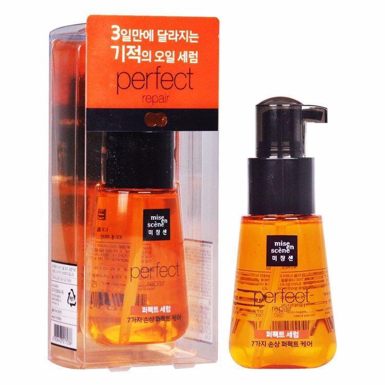 Mua Serum Dưỡng Tóc Dạng Gel Phục Hồi Hư Tổn Dưỡng Toc Chắc Khỏe Mise En Scene Perfect Repair Hair Serum 70Ml Trực Tuyến Rẻ