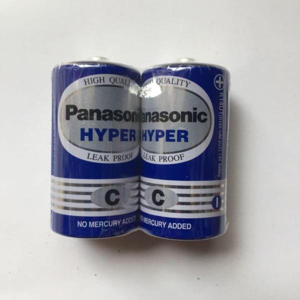 Bảng giá 2 viên Pin trung C 1,5V Panasonic Hyper R14UT/2S - Điện Việt