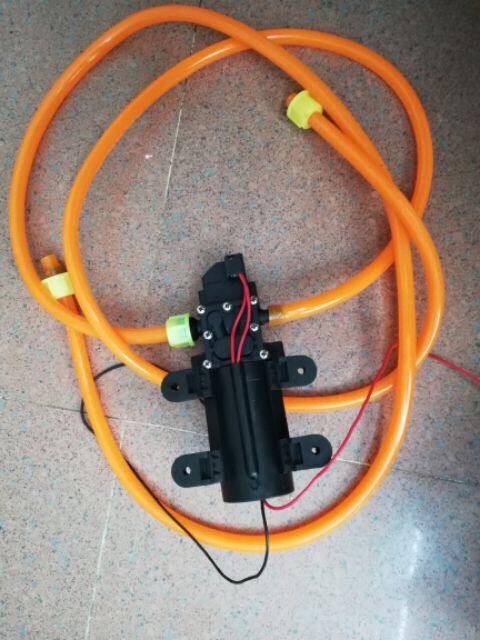 SL. Bơm cao áp mini động cơ 775 đơn hoặc đôi có van cao áp tự ngắt