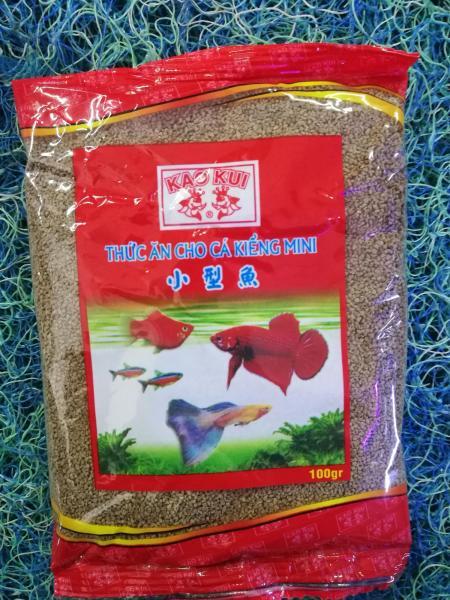 Thức ăn cho cá Kaokui hạt nhuyễn gói