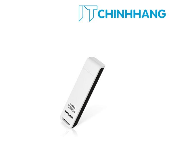 USB kết nối Wifi TP-Link WN821N Mini Chuẩn N không dây 300Mbps - HÀNG CHÍNH HÃNG