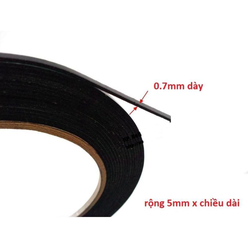 Băng keo 2 mặt cường lực dán đồ chơi xe hơi (dài 5M x rộng 5mm)