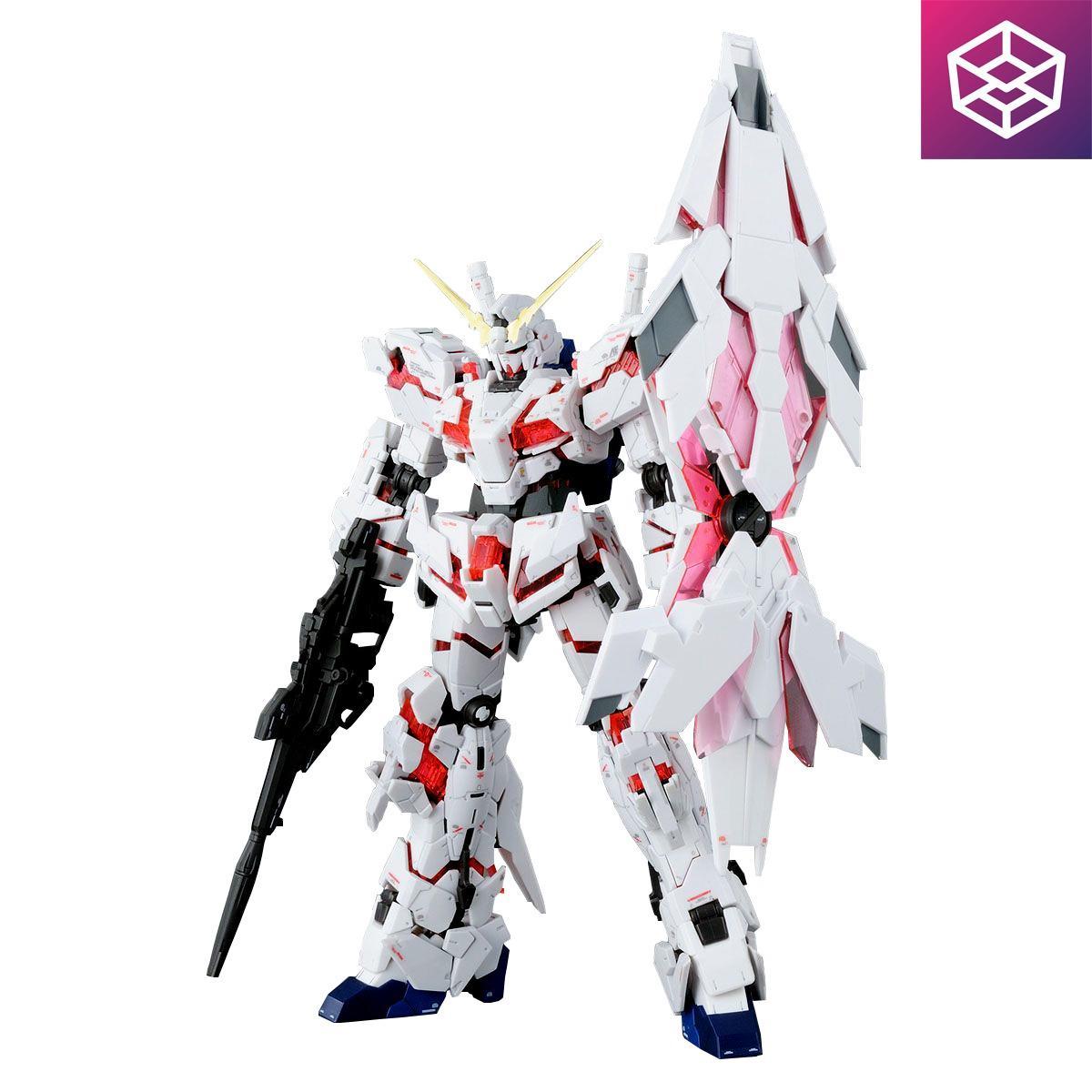 Hình ảnh Mô Hình Lắp Ráp Gundam Bandai RG 25 Unicorn Gundam (Bande Dessinee Ver) [Bandai-RG]