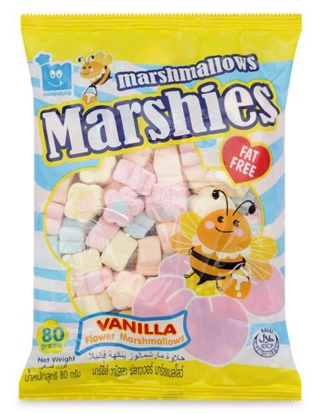 Kẹo Xốp Marshies Marshmallow Markenburg Hoa Hương Vani 80 G