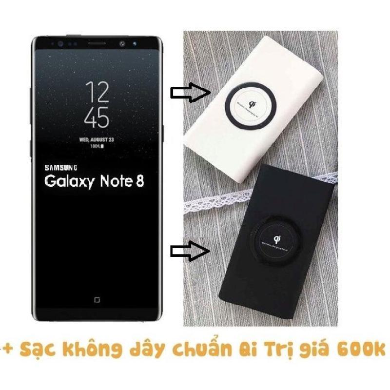 Samsung Note 8 đen + Sạc không dây ( Hàng nhập khẩu)