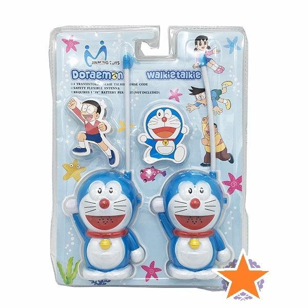 Hình ảnh Vỉ đồ chơi 2 bộ đàm cầm tay Doraemon (pin)