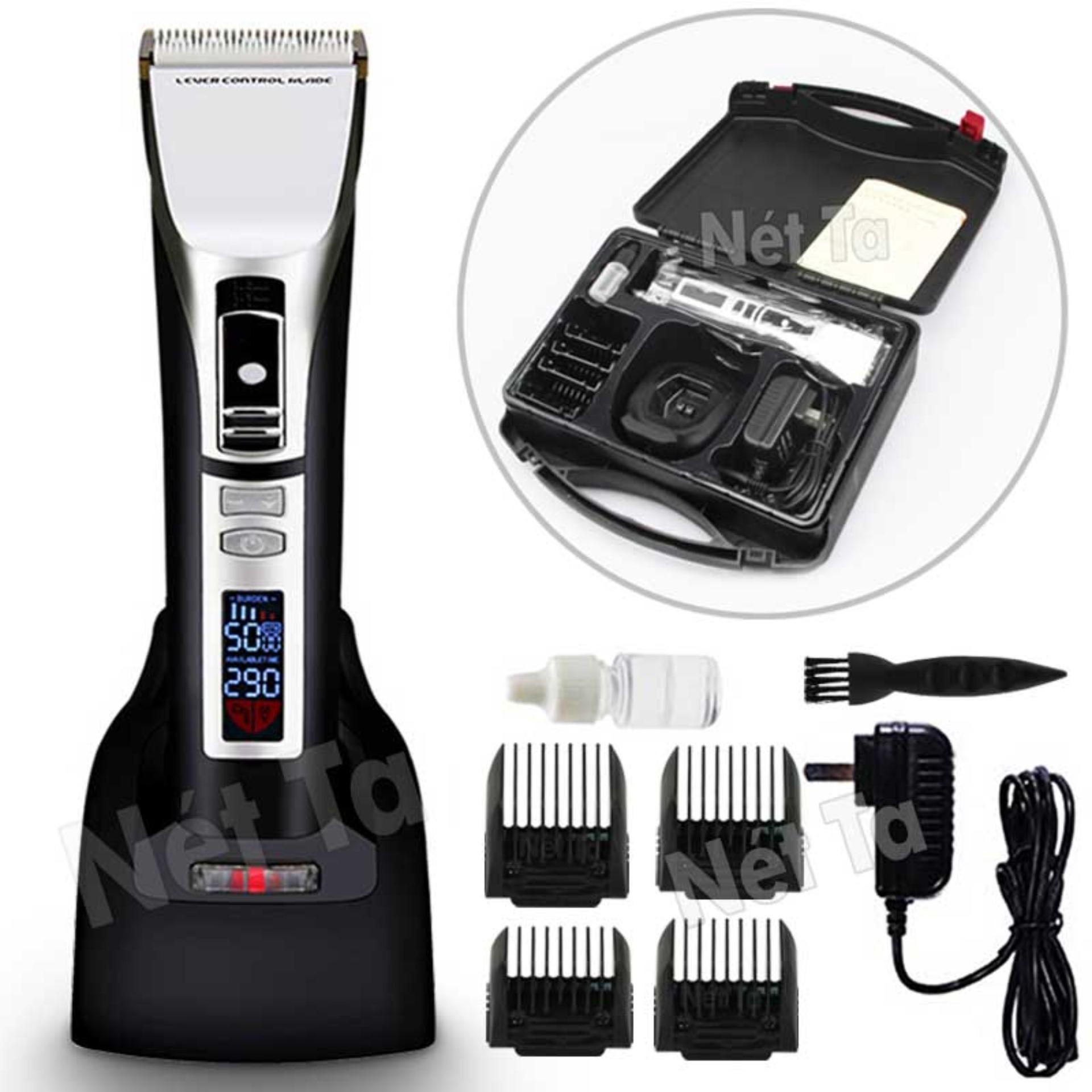 Hình ảnh Tông đơ cắt tóc cao cấp pin 5 tiếng điều chỉnh tốc độ 5 mức Nét Ta RFCD-9100