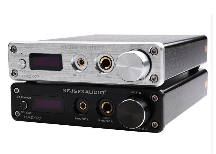 Bộ giải mã DAC FX audio D01 32bit Bluetooth - bản nâng cấp hoàn hảo của X7 - Tặng 299k