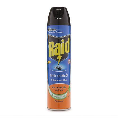 Hình ảnh Bình xịt muỗi Raid 600ml hương cam chanh