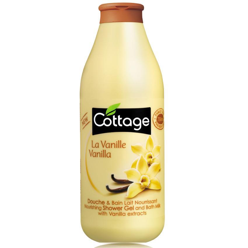 Sữa tắm Cottage hương vanille 750ml - Pháp