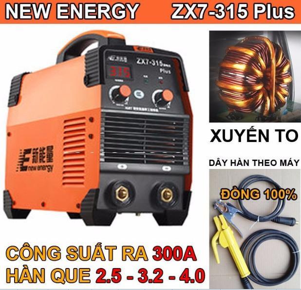 Máy hàn que New Enery 315A  máy hàn chuyên nghiệpmáy hàn giá rẻ