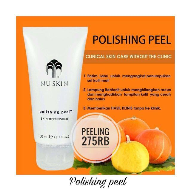 Kem làm sáng da Polishing Peel Skin Refinisher Nuskin