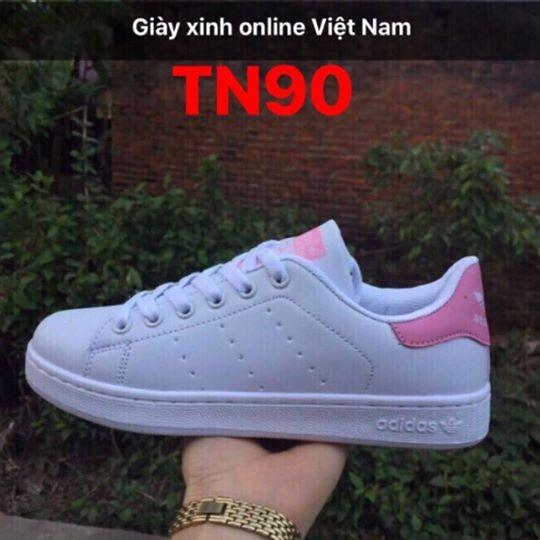 Bán Giay Thể Thao Stan Smith Nữ Tn90 Phong Cach Trẻ Trung Trong Việt Nam